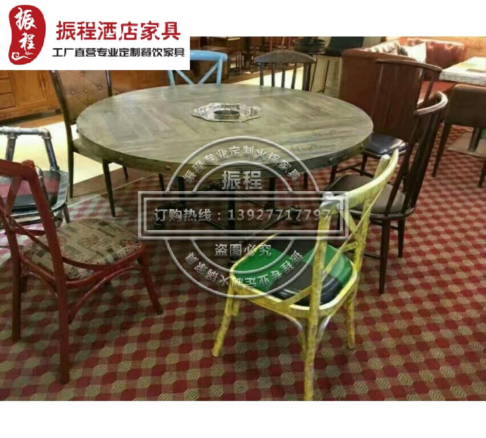 瓷砖面桌椅-主题餐厅